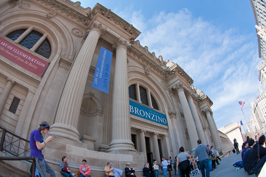 A survey of a visit to the metropolitan museum of art