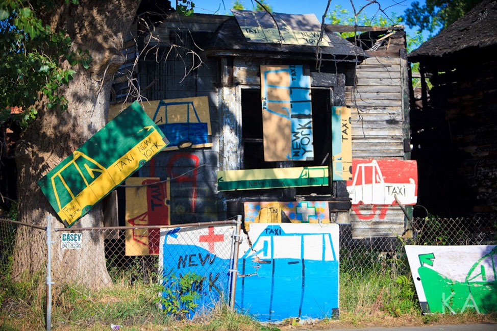 The Heidelberg Art Project in Detroit