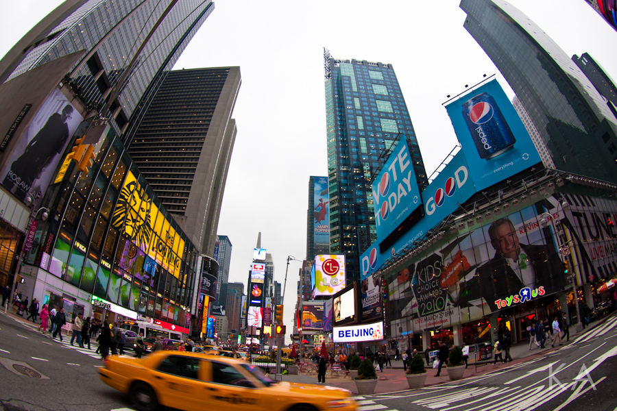 Yes, I Love NY! - Kirsten Alana
