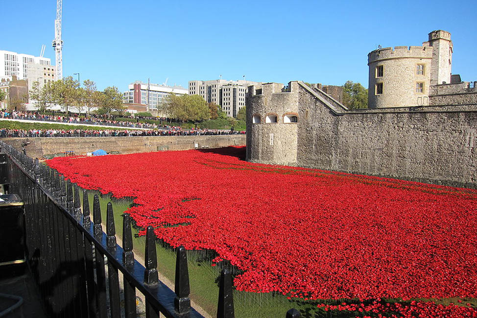 London on Remembrance Day