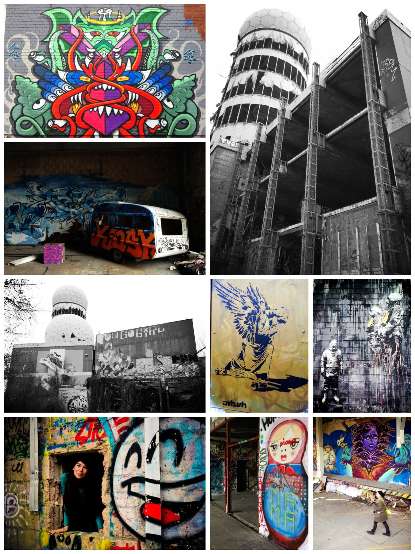 The Coolest Place I went While in Berlin: Teufelsberg - Kirsten Alana