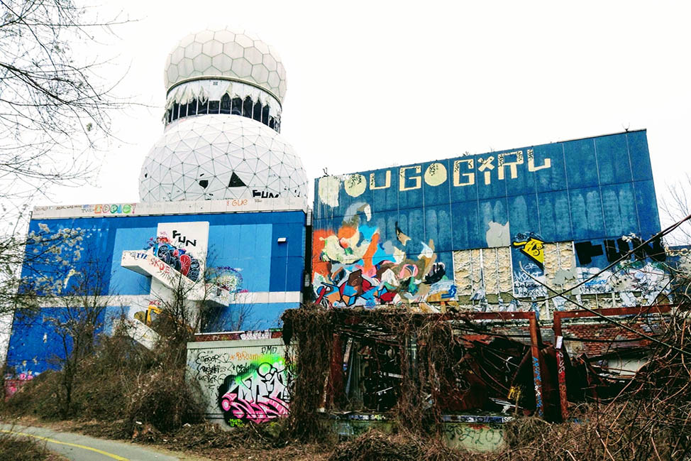 The Coolest Place I Went While in Berlin: Teufelsberg thumbnail
