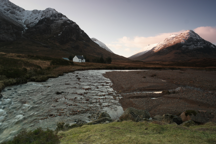 We returned more than once so we could get the Home of Scottish Hiking Association in varying light.