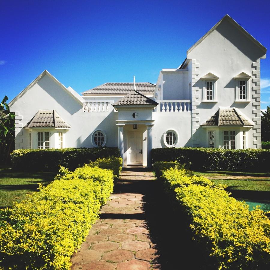 One of the Private Villas!