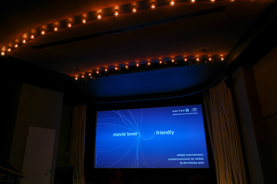 United Airlines and the Tribeca Film Festival