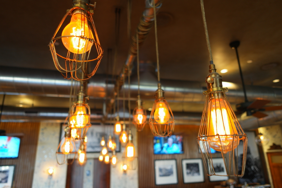 I adore these lights at Proof!