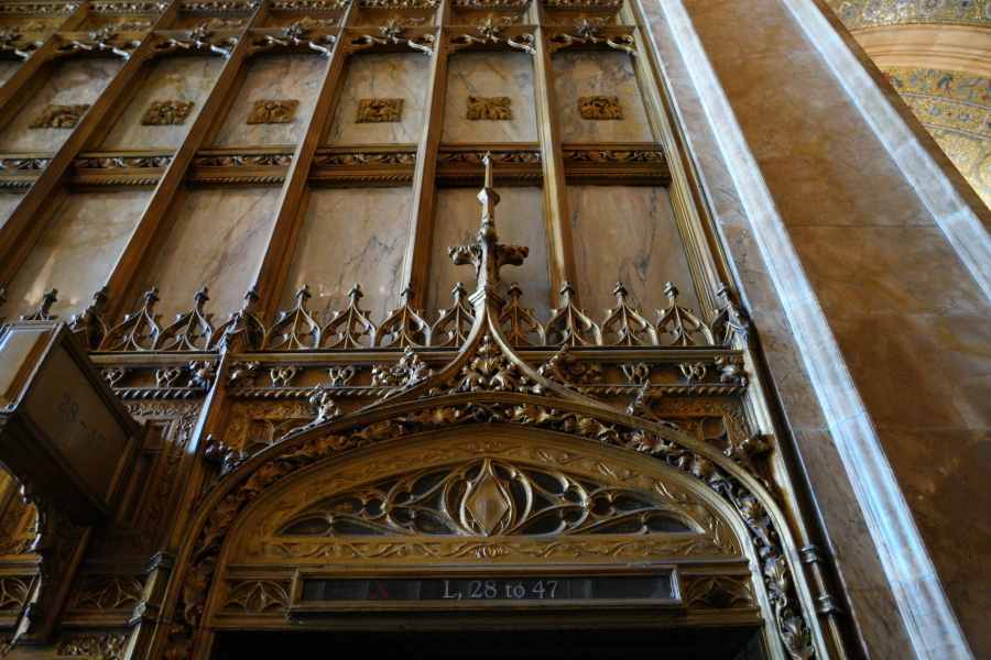 Above the Historic Elevators
