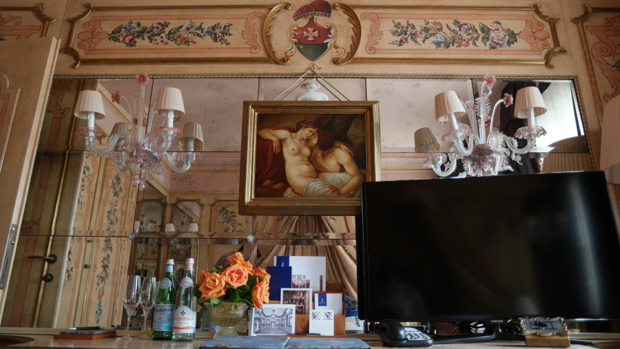 another look inside our bedroom at Gritti Palace
