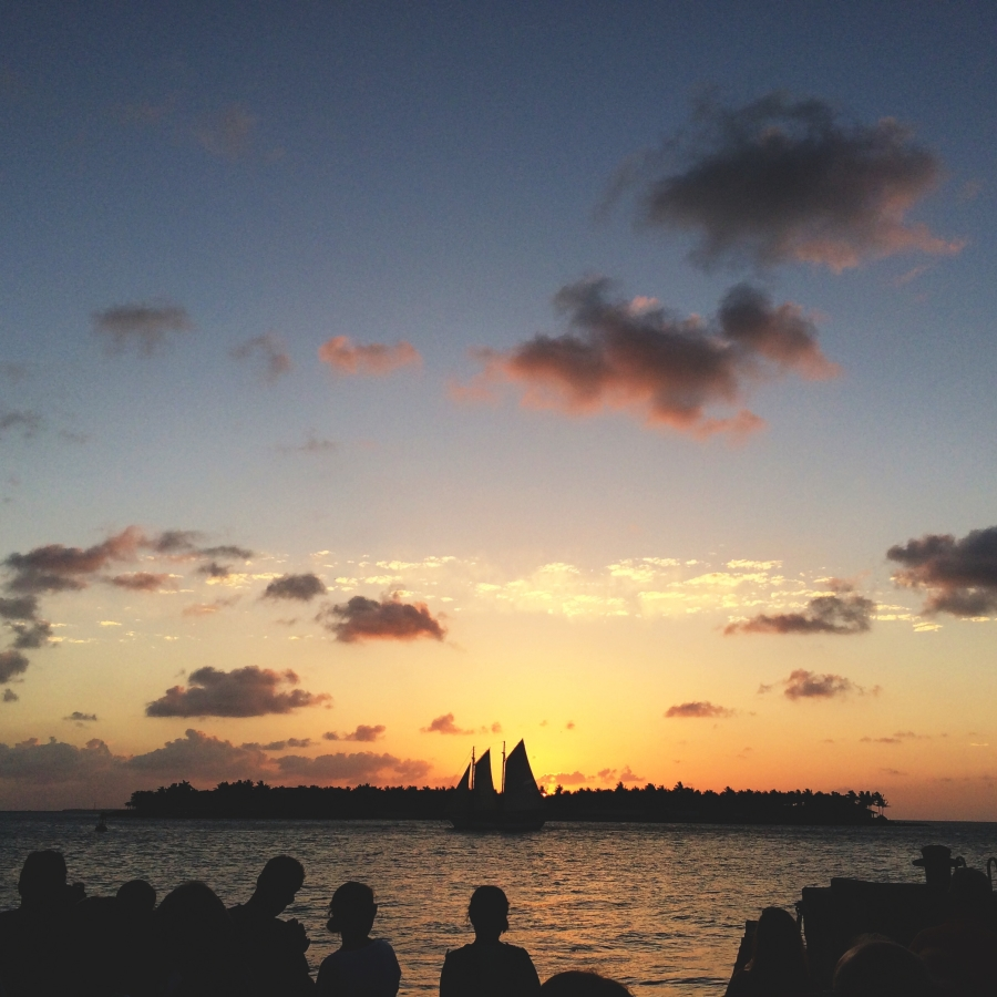 The sunset is such an important part of life in Key West, it's celebrated every night at Mallory Square.