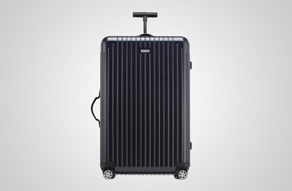 Checked Roller Bag