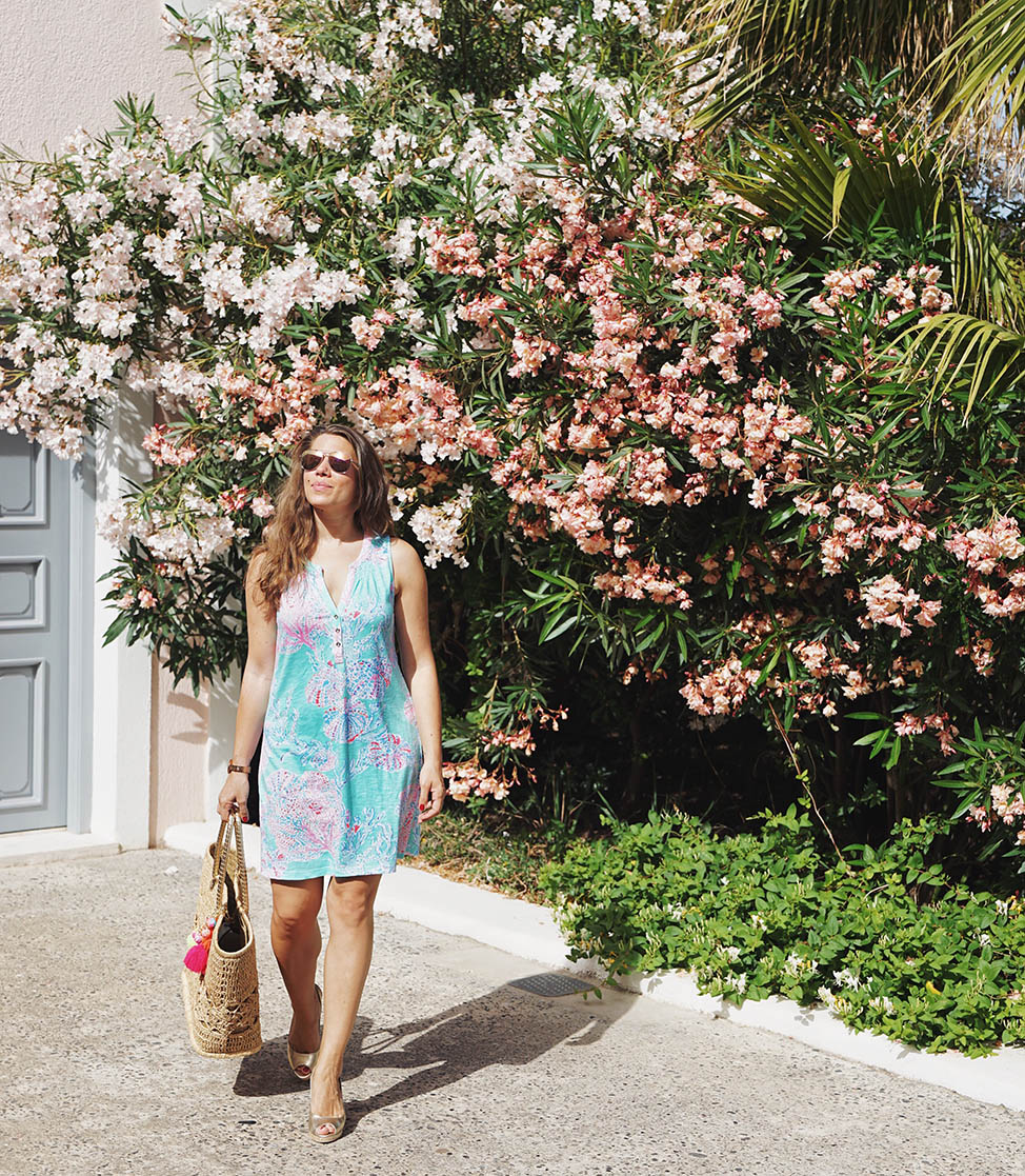 Greece: Lilly Pulitzer on Santorini