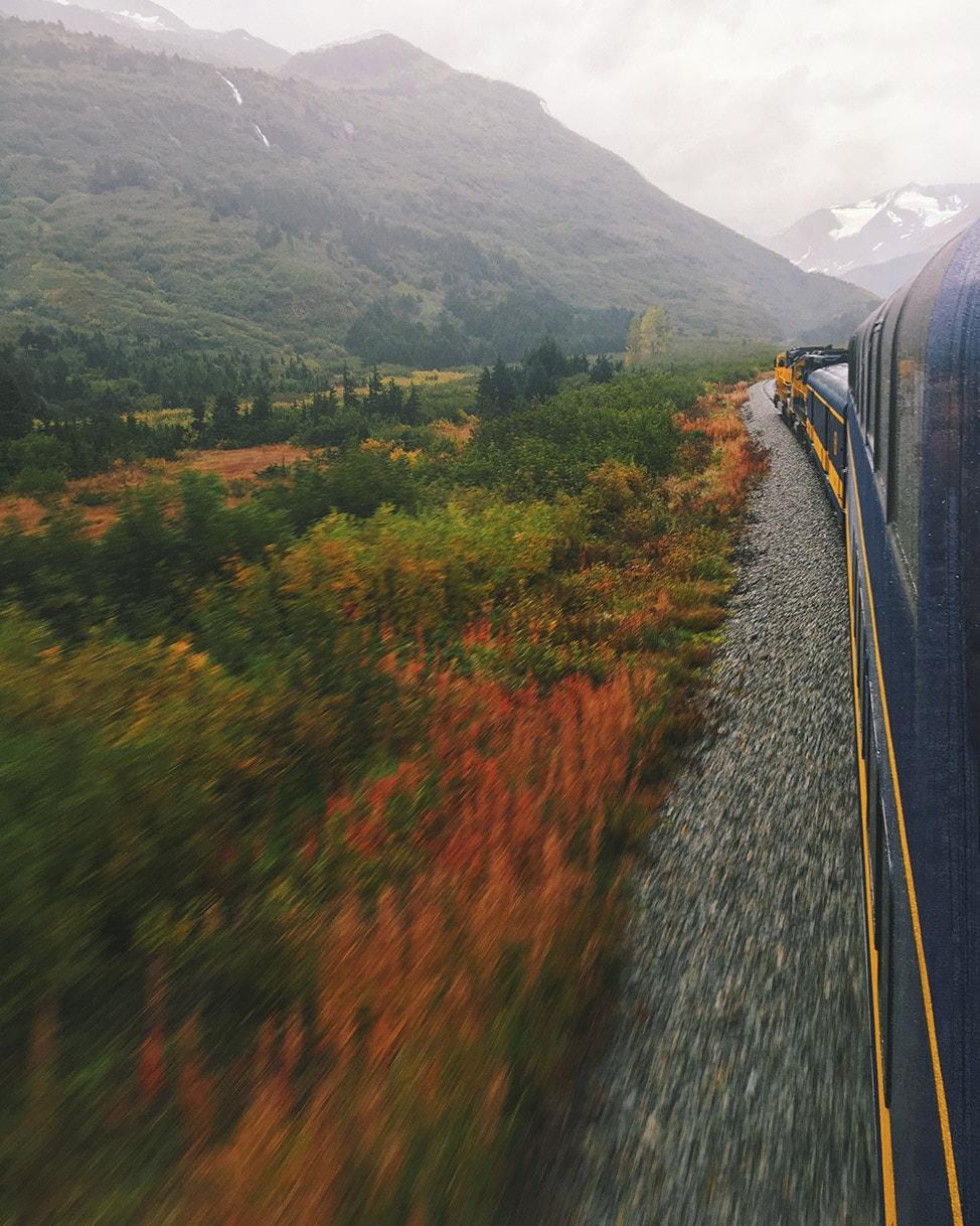 alaska train top 10 instagram photos 2016