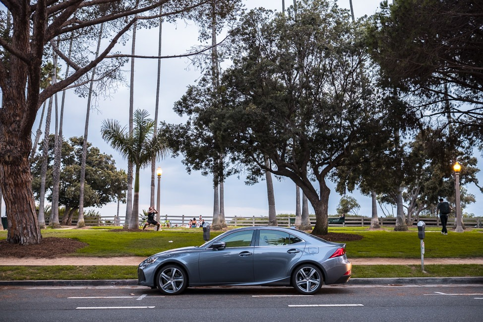 Lexus IS 200t Test Drive in Los Angeles