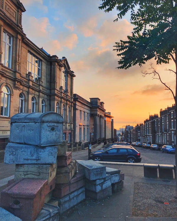 Visit Liverpool GB during Biennial