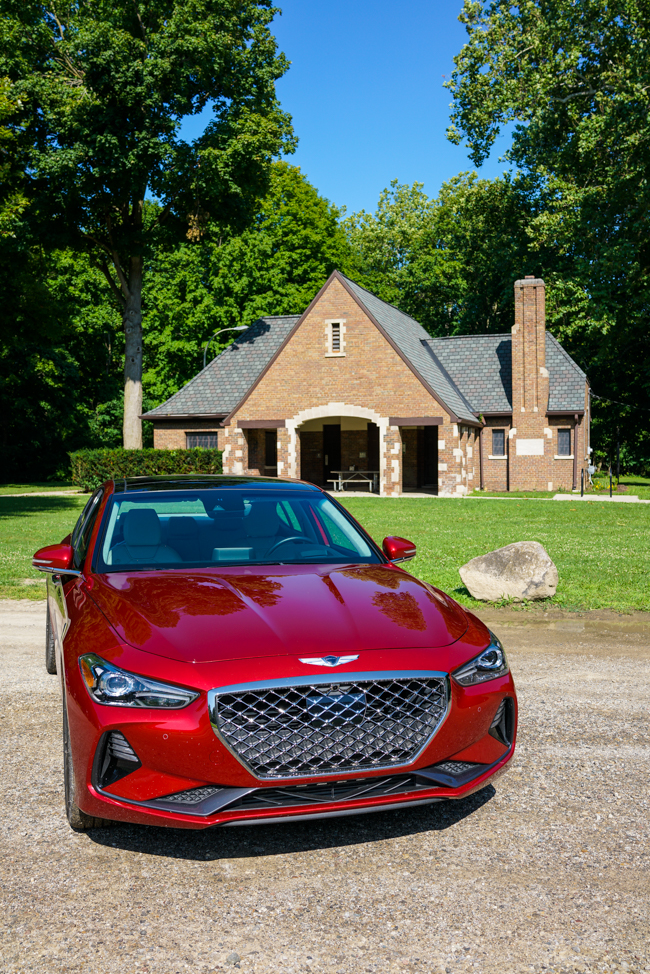 Test driving the Genesis G70 - Kirsten Alana