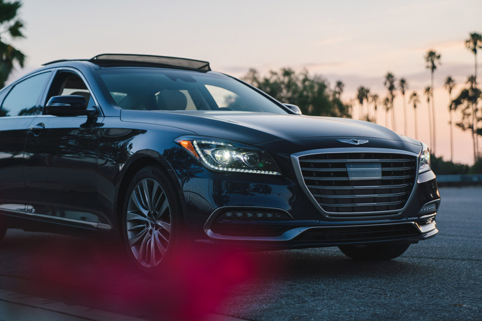 Genesis G80: test drive in California - Kirsten Alana