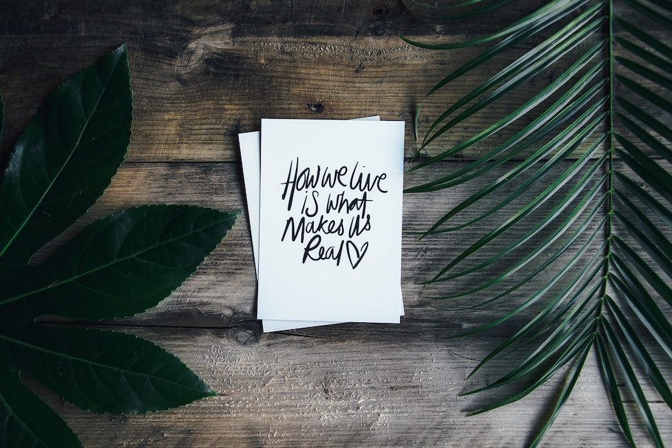 How We Live Quote Image from All Time Favorite Quotes by Kirsten Alana