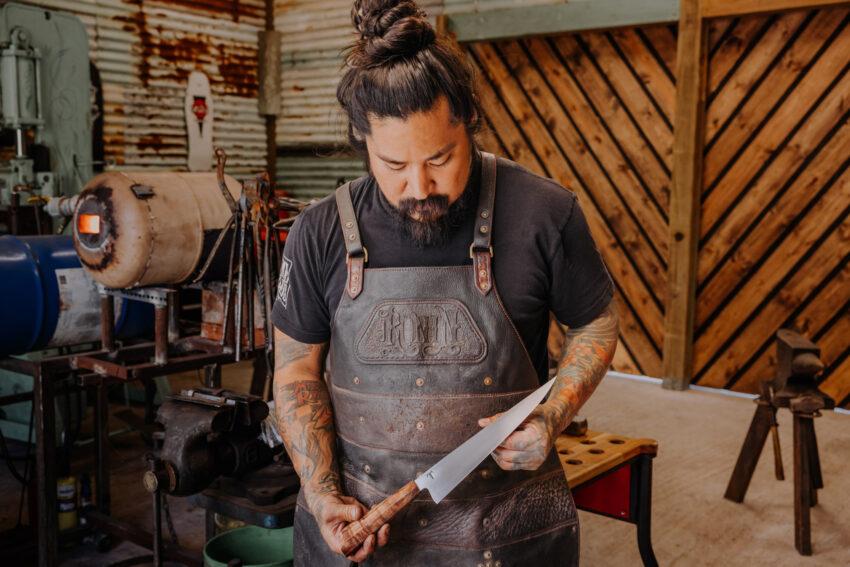 Learn Blacksmithing at FSHualalai on Hawaii's Big Island by Kirsten Alana