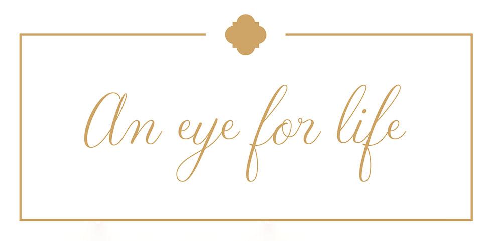 An Eye for Life newsletter logo for Kirsten Alana